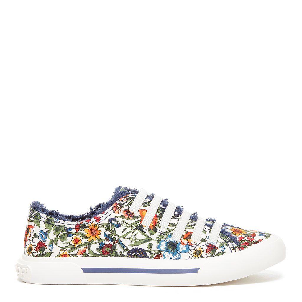 Floral sneakers, Sneakers