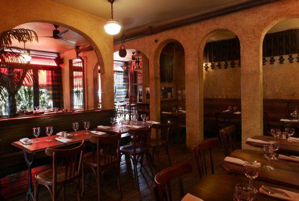 Cafe Noir in Soho, NYC