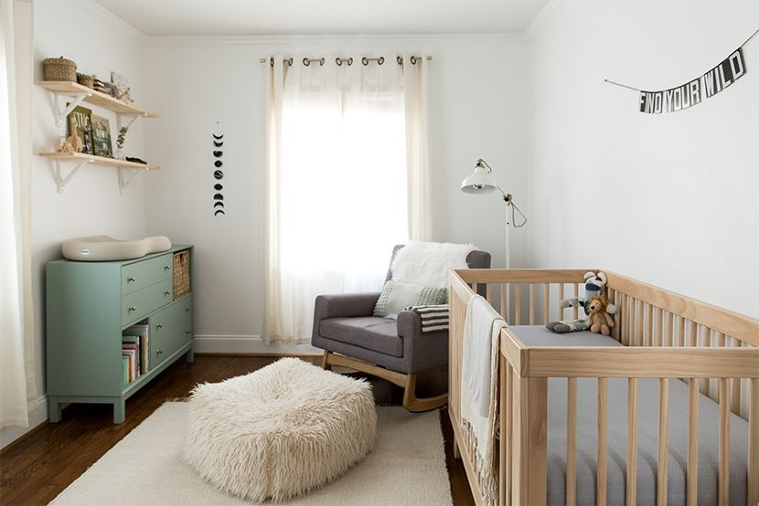 Multi Colored Furniture Works B C The Repeated Light Wood Tone And Lighter Crea In 2020 Baby Nursery Furniture Boy Room Nursery Furniture