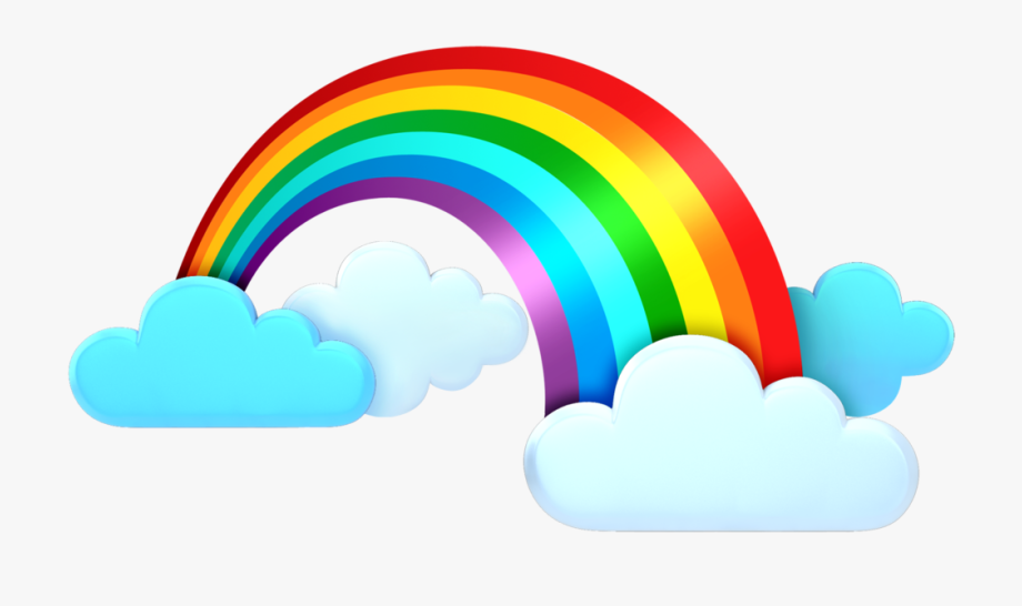Rainbow Clipart Weather Rainbow And Clouds Png Is Popular Png Clipart Cartoon Images Explore And Download More Related Im Rainbow Clipart Clip Art Rainbow