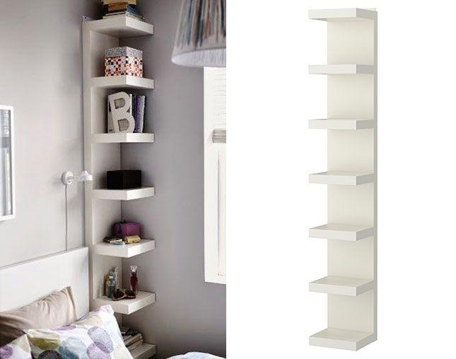 les 25 meilleures id es de la cat gorie corner shelf ikea sur pinterest tag re cd bricolage. Black Bedroom Furniture Sets. Home Design Ideas