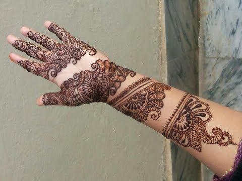 Henna Mehndi S : 97 how to apply decent and unique bridal design henna mehndi