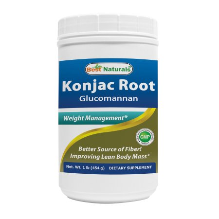 Best Naturals Konjac Glucomanan Root 1 Lb Fastmetabolismdiet Fast