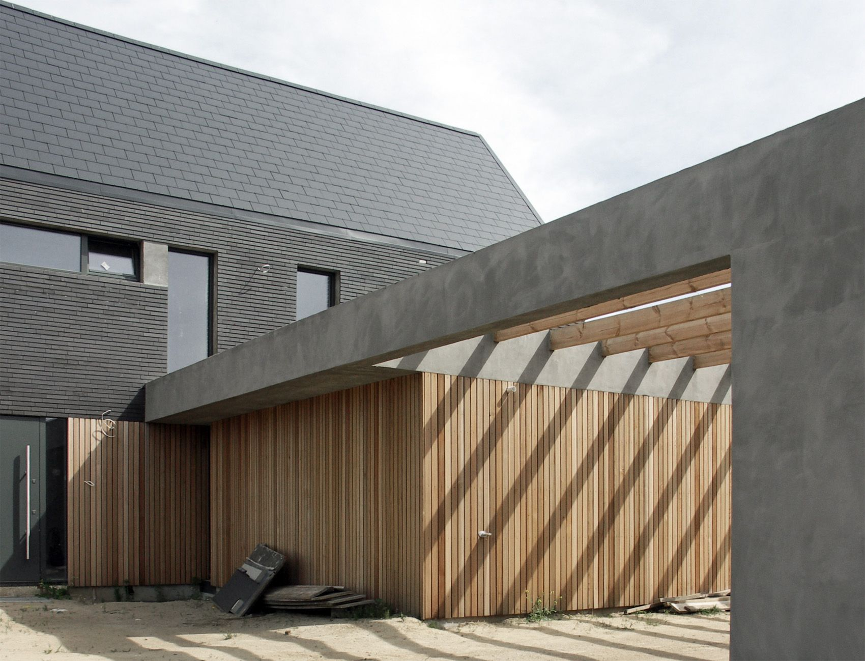 dom w Bojanie - PRACOWNIA 111   architectuur   Pinterest   Carport ...