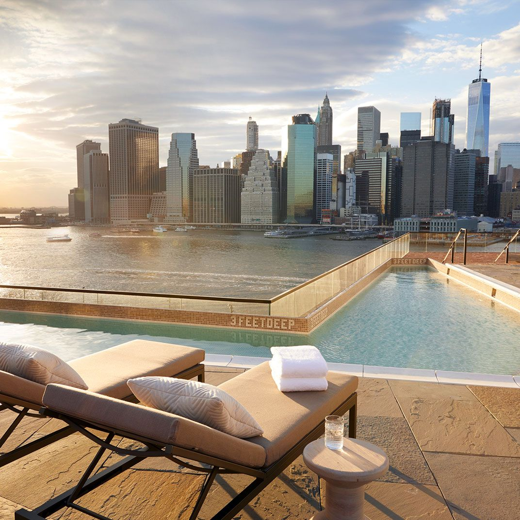 The Manhattan Iteration Of The 1 Hotels Brand May Have Come First But That Doesn T Mean The Brooklyn Edition I Restaurant New York Nyc Rooftop New York Hotels