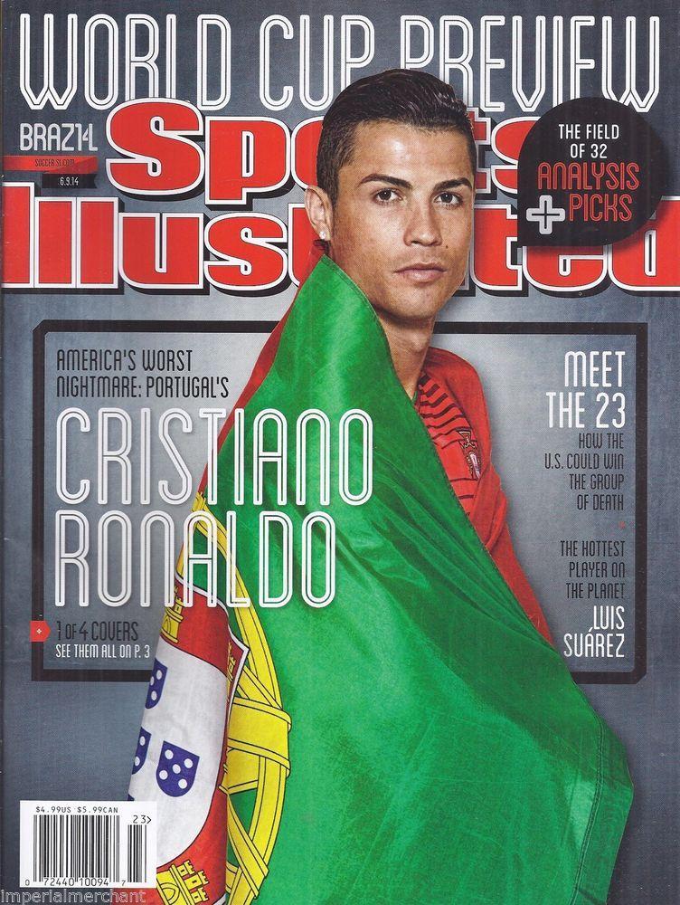 Cristiano Ronaldo in Sports Illustrated magazine