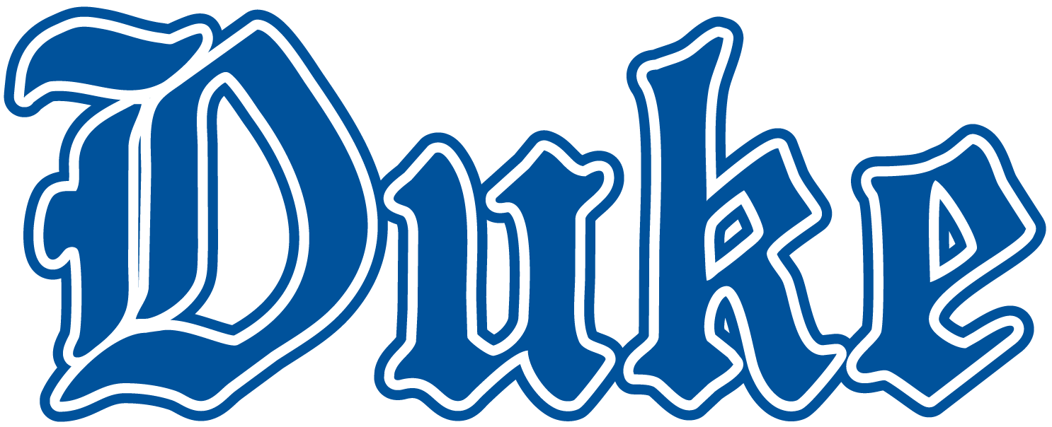 Duke Blue Devils Wordmark Logo (1978) Duke Blue Devils