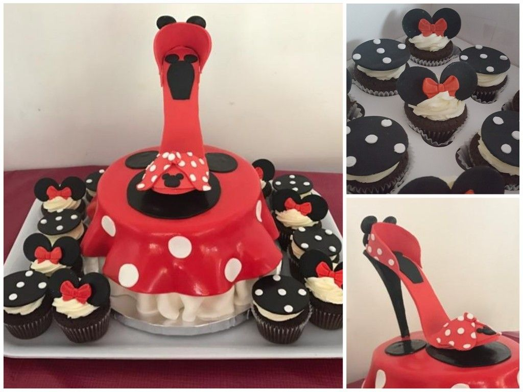 Astonishing Minnie Mouse Mickey Mouse Shoe Cake Cake Shoe Cake Mickey Birthday Cards Printable Trancafe Filternl