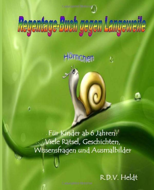 Regentage Buch Gegen Langeweile Für Kinder Ab 6 Jahren Viele
