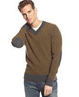 Tommy Hilfiger Calver Wool-Blend V-Neck Sweater