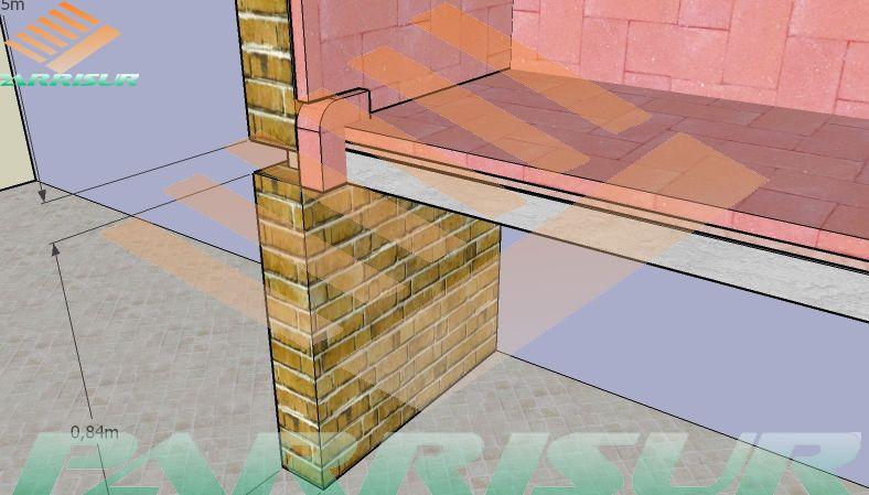 Planos como construir parrillas barbacoas modernas - Parrillas de obra ...