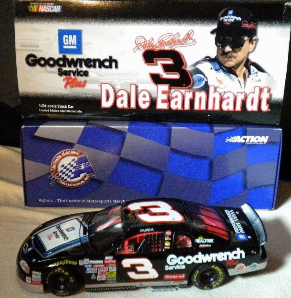 Dale Earnhardt Sr 3 GM Goodwrench Service Plus Sign 1999