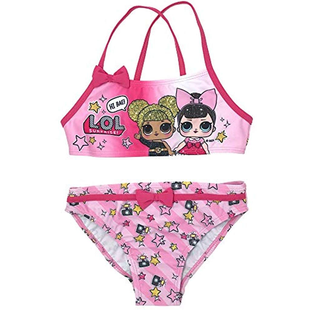 Bambina LOL Surprise SE6312 Costume Due Pezzi Poliestere Bikini
