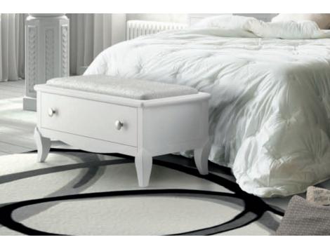 Pie de cama BASILEA con cajon | caro | Pinterest | Cama con cajones ...