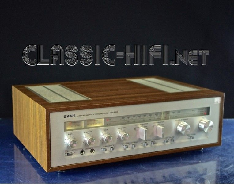 Yamaha CR820 Receiver - A classic late 1970s era unit