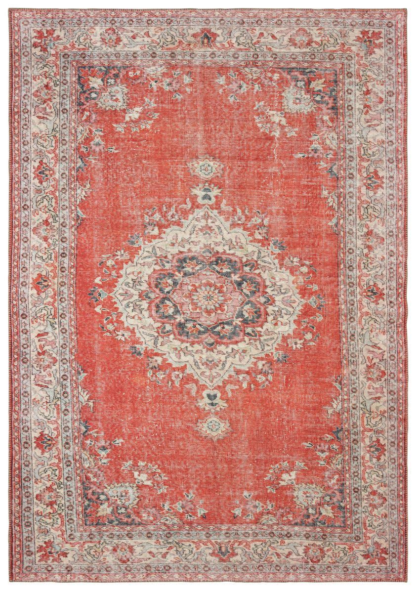 Oriental Weavers Sofia 85810 Red Grey Area Rug Rugs