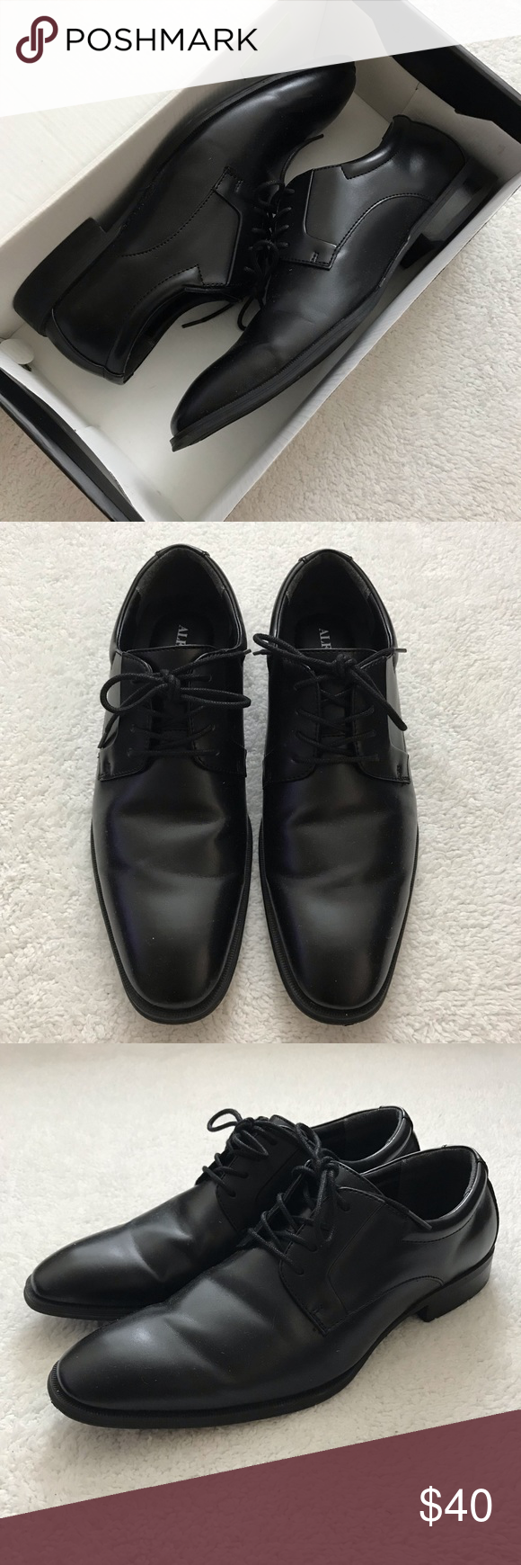Alfani Black Dress Shoes in 2020
