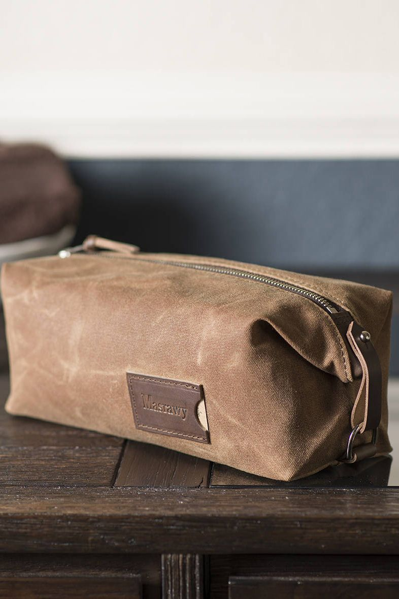 b527ce922657 Personalized dopp kit for him. A gift he ll  actually  use