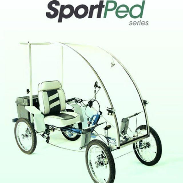 The 4 Wheel Bike That Drives Like A Car