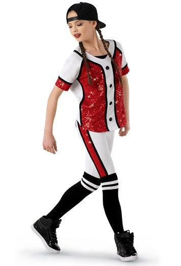 Weissmanu00ae | Hip-Hop Baseball Uniform Costume | High School Musical Dance Costumes | Pinterest ...