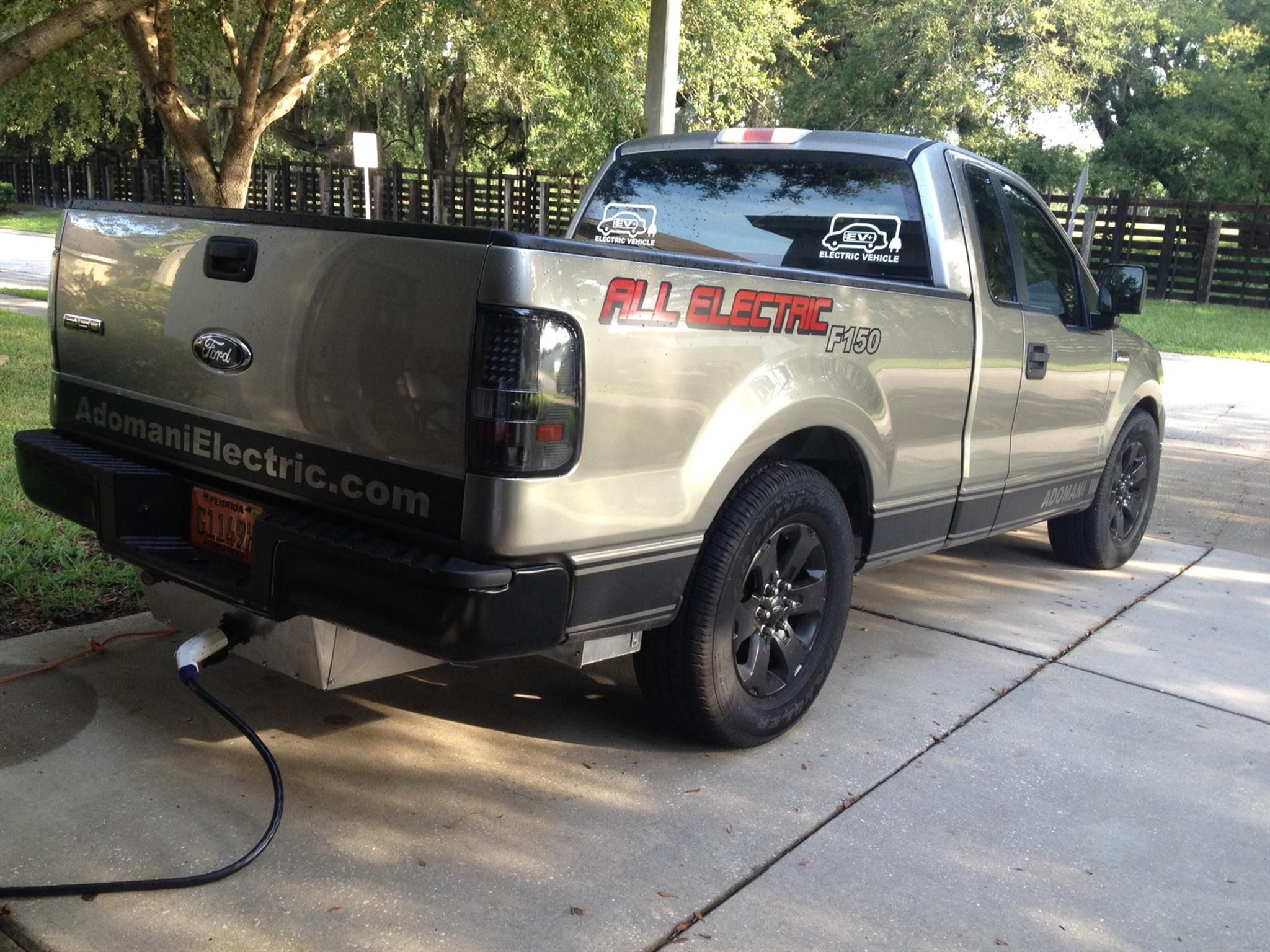 Ford F150 100 Electric Vehicle Conversion By Adomani Electric In