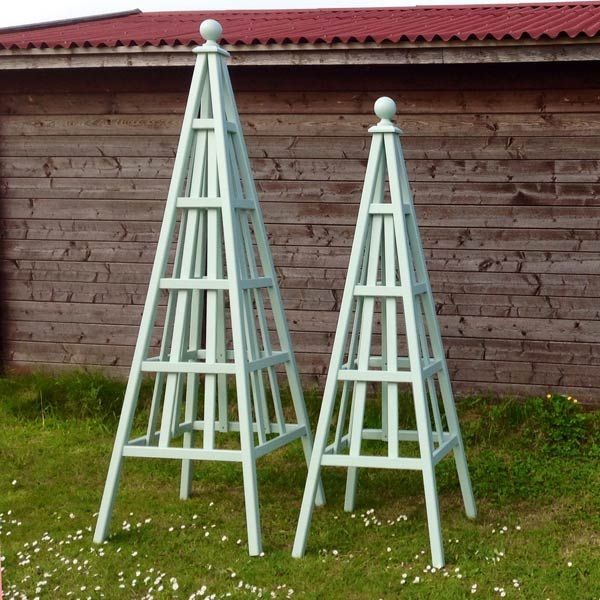 images about Garden Obelisks on Pinterest Gardens Sweet