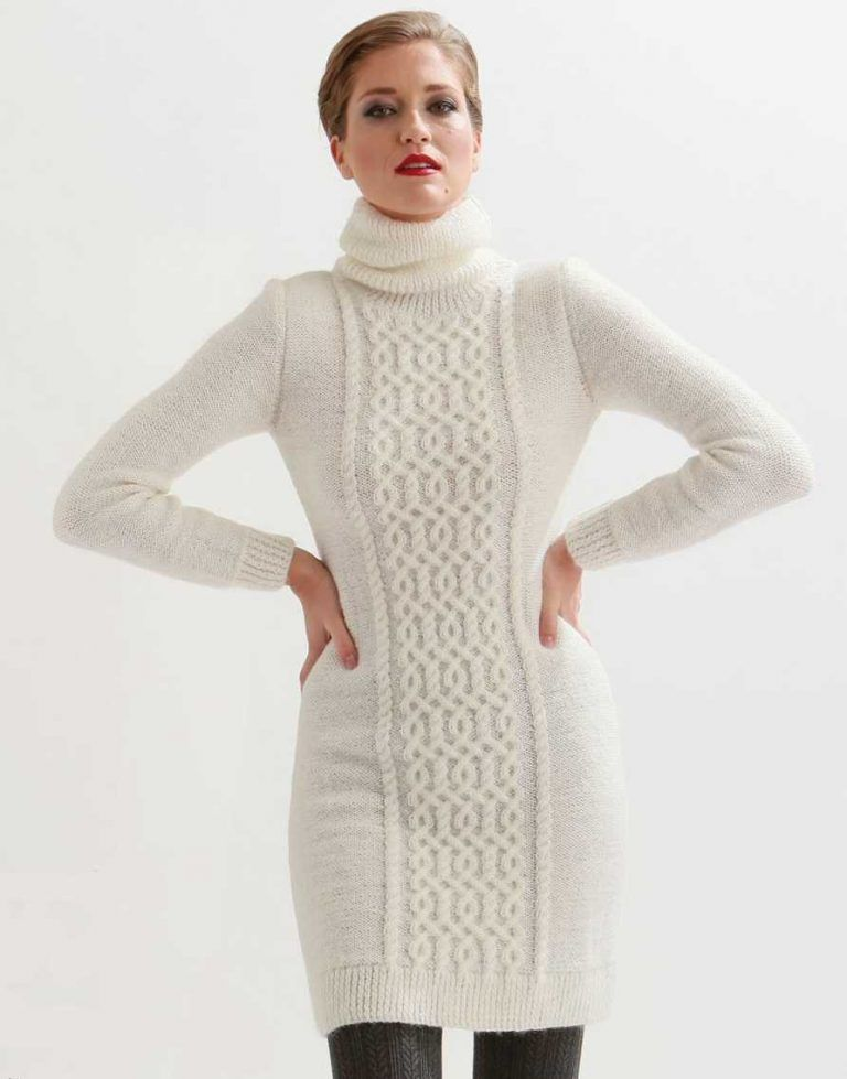 Knitting Patterns Dress