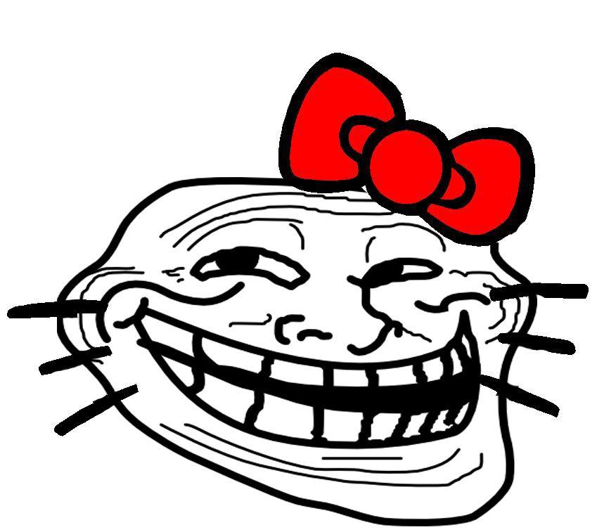 Clip art trool face prank clipart cliparthut free clipart emma watsons troll face voltagebd Choice Image