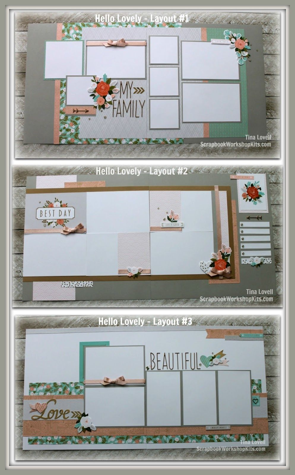 How to scrapbook faster - Scrapbook Kit Cutting Guides Click On Tab At Top To See Card Cutting Guides