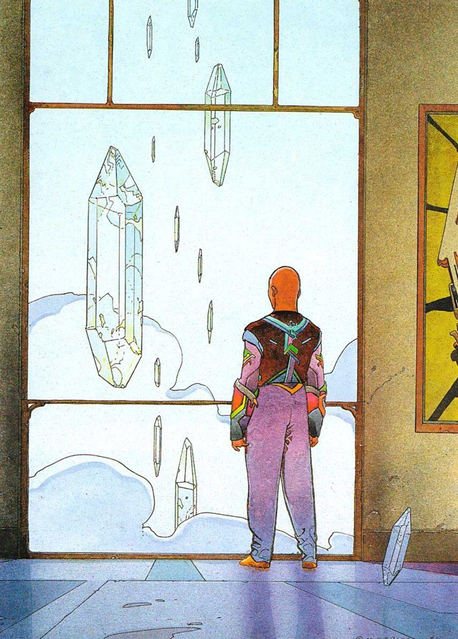 Moebius - Starwatcher #Moebius #comics #illustration