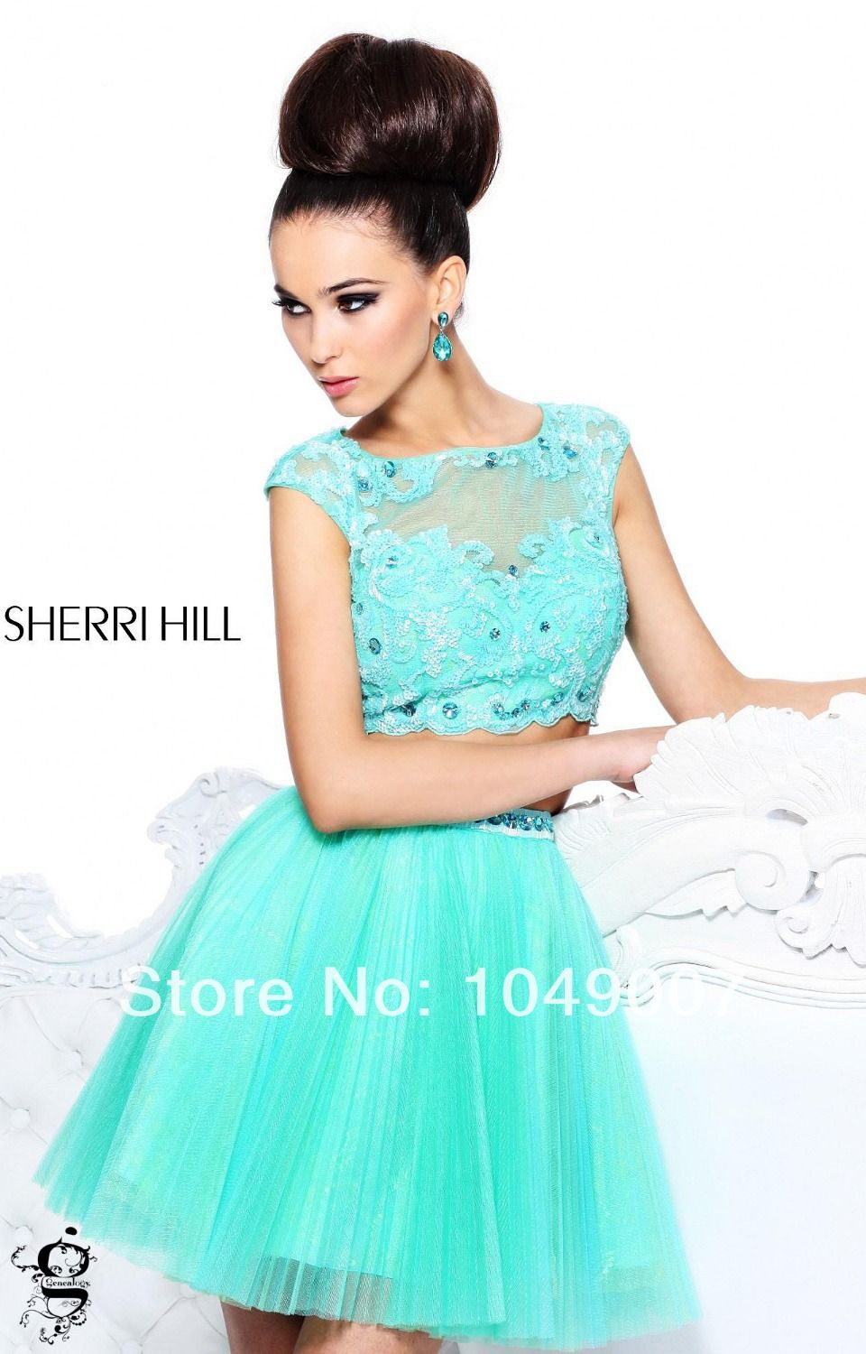 Gorgeous-Cap-Sleeves-Beaded-2-Piece-Homecoming-Dresses-8th-Grade ...