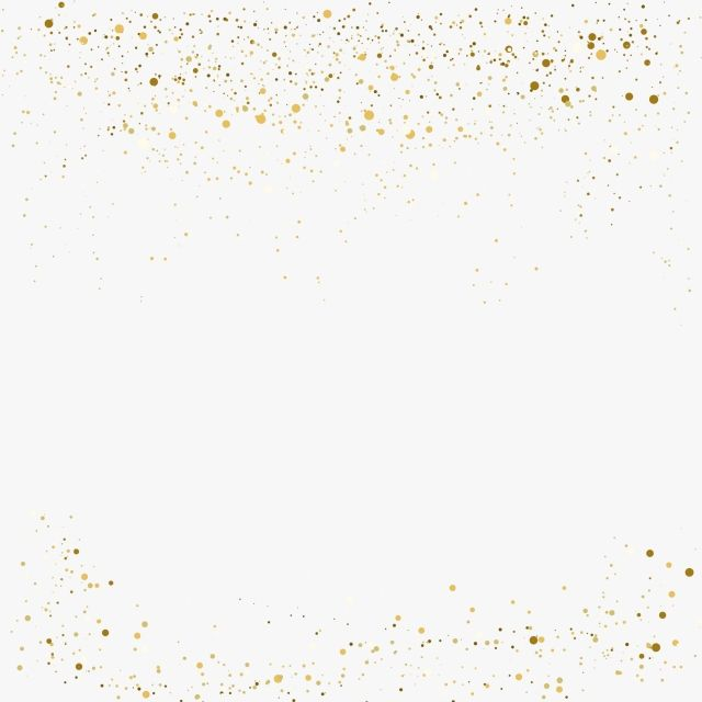 Gold Glitter Background Border Png Png Free Download, Glitter, Gold, Golden PNG and Vector with Transparent Background for Free Download