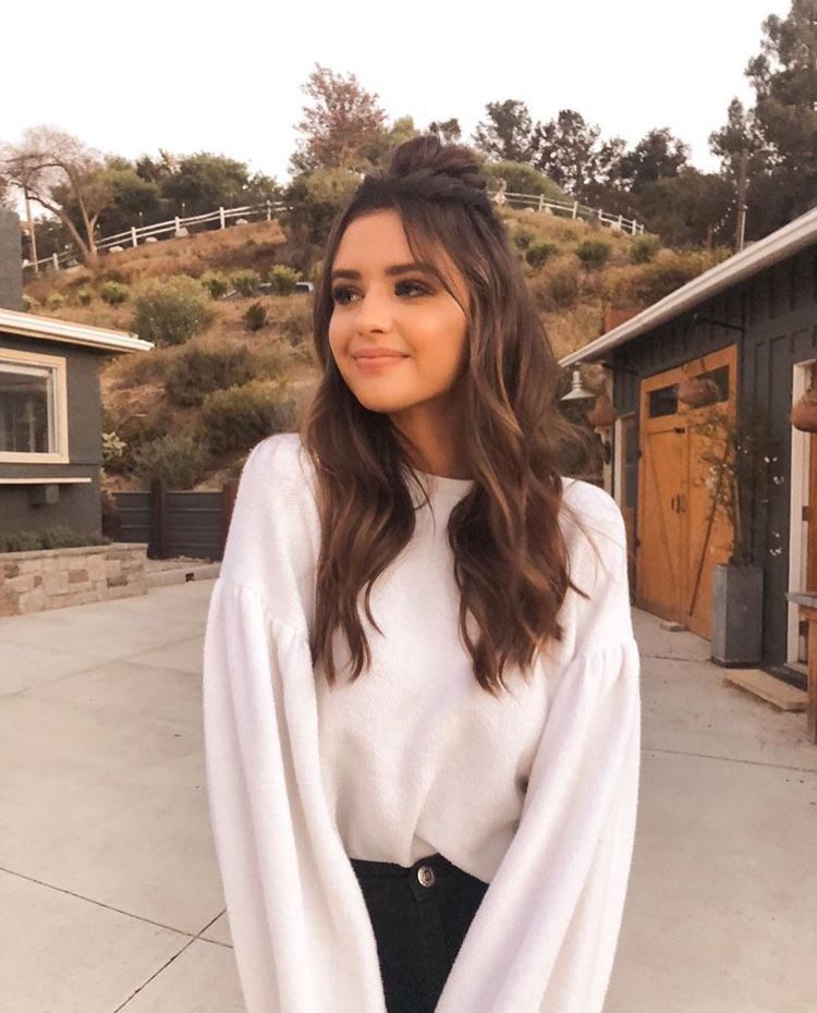 Jess Conte #outfit and #hair #autumn | |Love that look