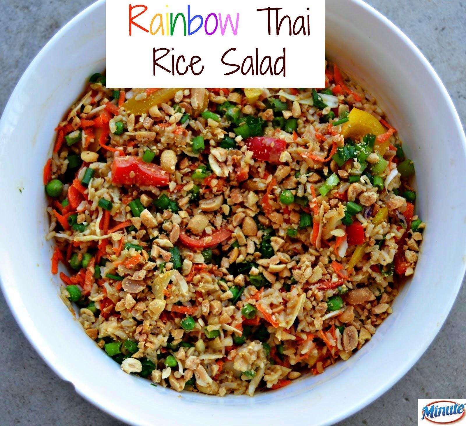 Rainbow Thai Rice Salad Kitchen Aid Mixer Giveaway