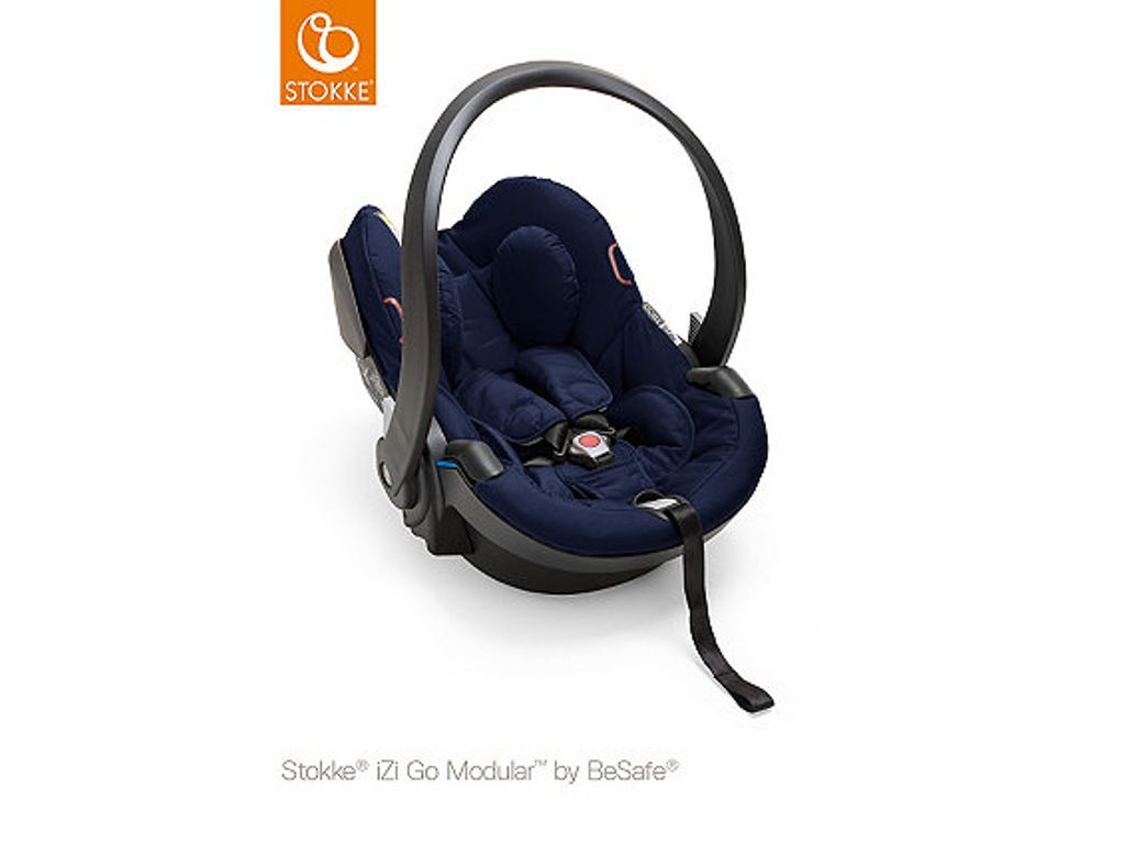 Stokke Izigo Modular By Besafe Deep Blue Baby Car Seats Car Seats Baby Strollers