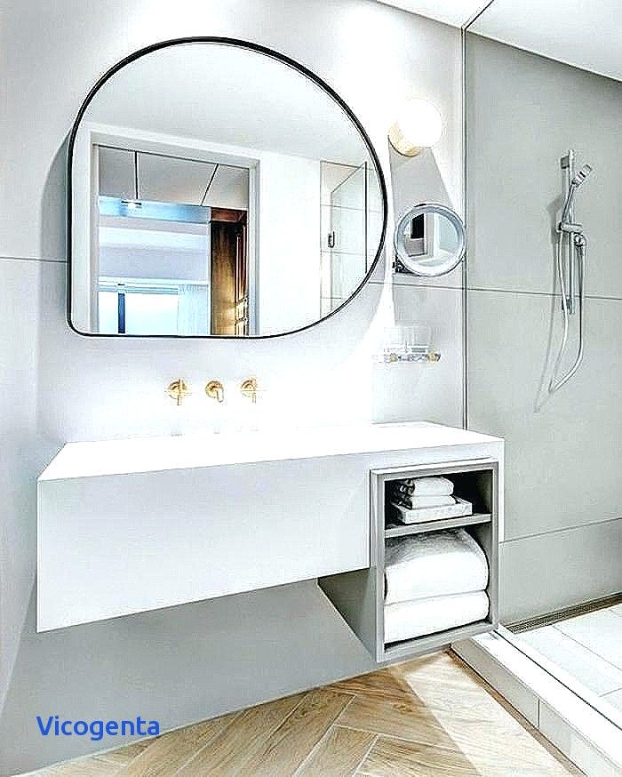 Salle De Bain Moderne Avec Meuble Vasque Miroir Salle De Bain