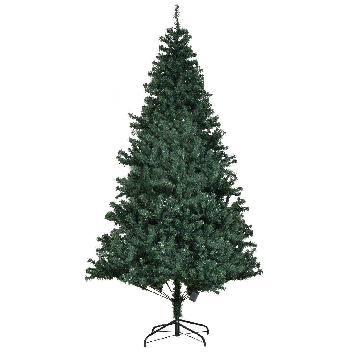 Goplus 7ft Prelit Artificial Christmas Tree Autospread Close Up Branches 11 Flash Modes With Multicolored Led Li With Images Artificial Christmas Tree Christmas Tree Tree