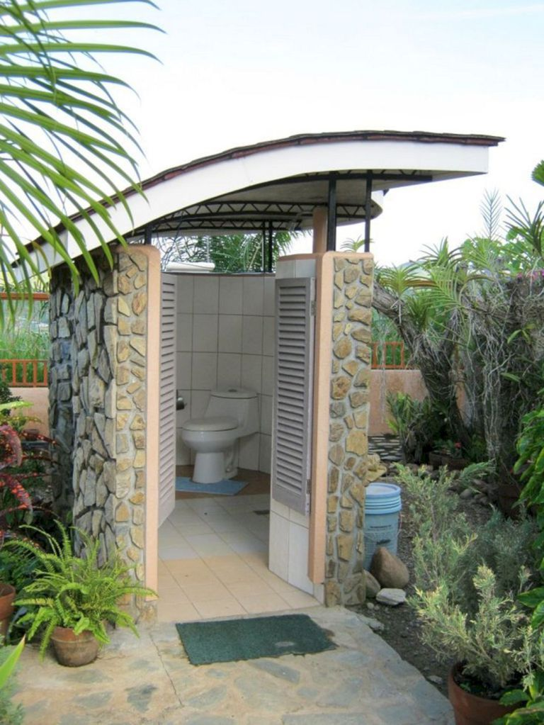 24 Marvelous Outdoor Bathroom Design For Perfectly Bathroom Ideas Outdoor Bathroom Design Outdoor Pool Bathroom Outdoor Bathrooms
