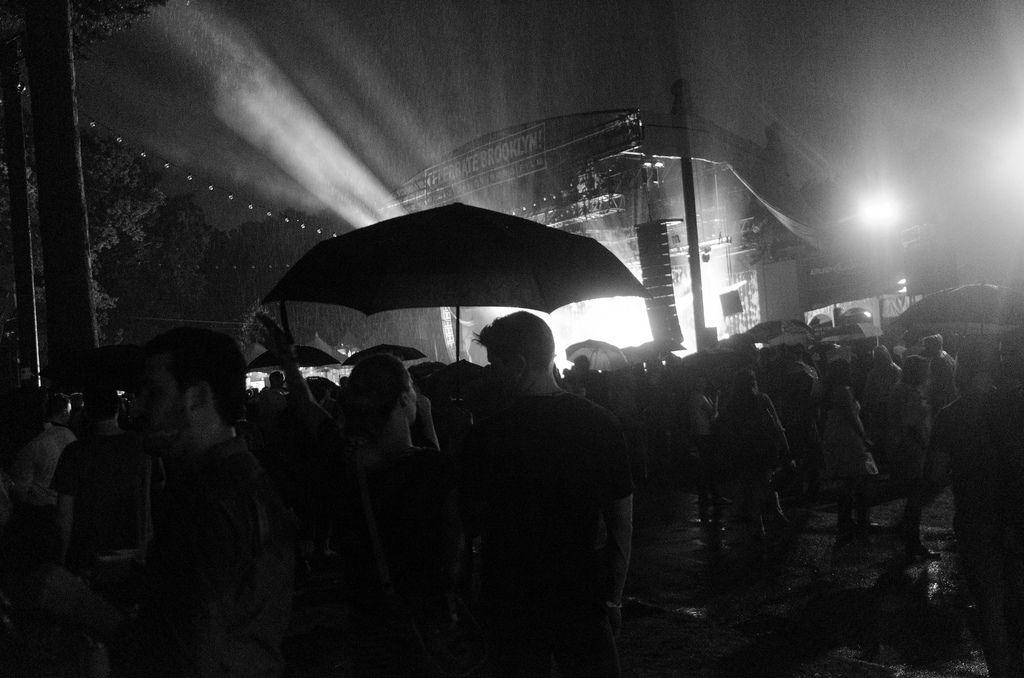 Umbrella  Prospect Park, Brooklyn, NY  At the Wilco concert.