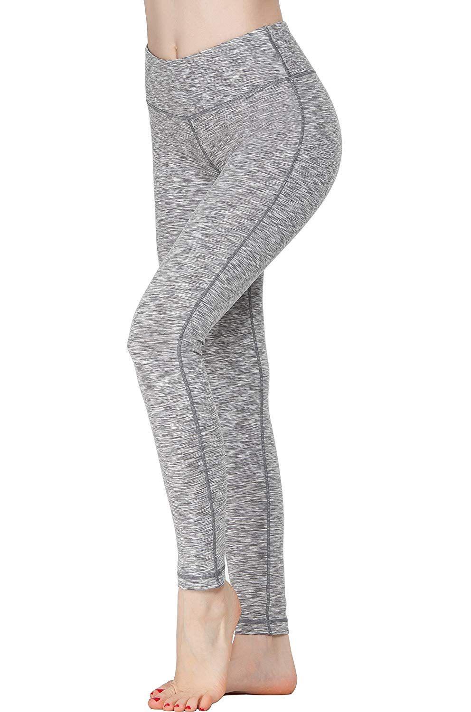 9253745ff602c Amazon.com: Oalka Women Power Flex Yoga Pants Workout Running Leggings:  Clothing
