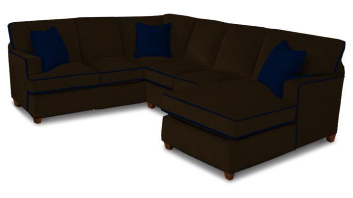 Bassett Living Room U Shaped Sectional 4000 USECTT At Bassett Furniture   Bassett  Furniture