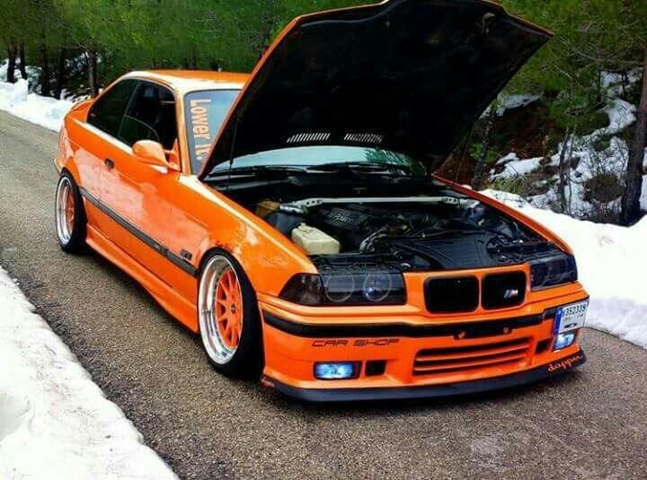 Bmw E36 M3 Orange Whips Whips Pinterest Bmw