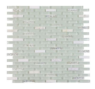 Gl And Mosaic Tiles 160646 Clearance Tile Ballentine Strip 12 X
