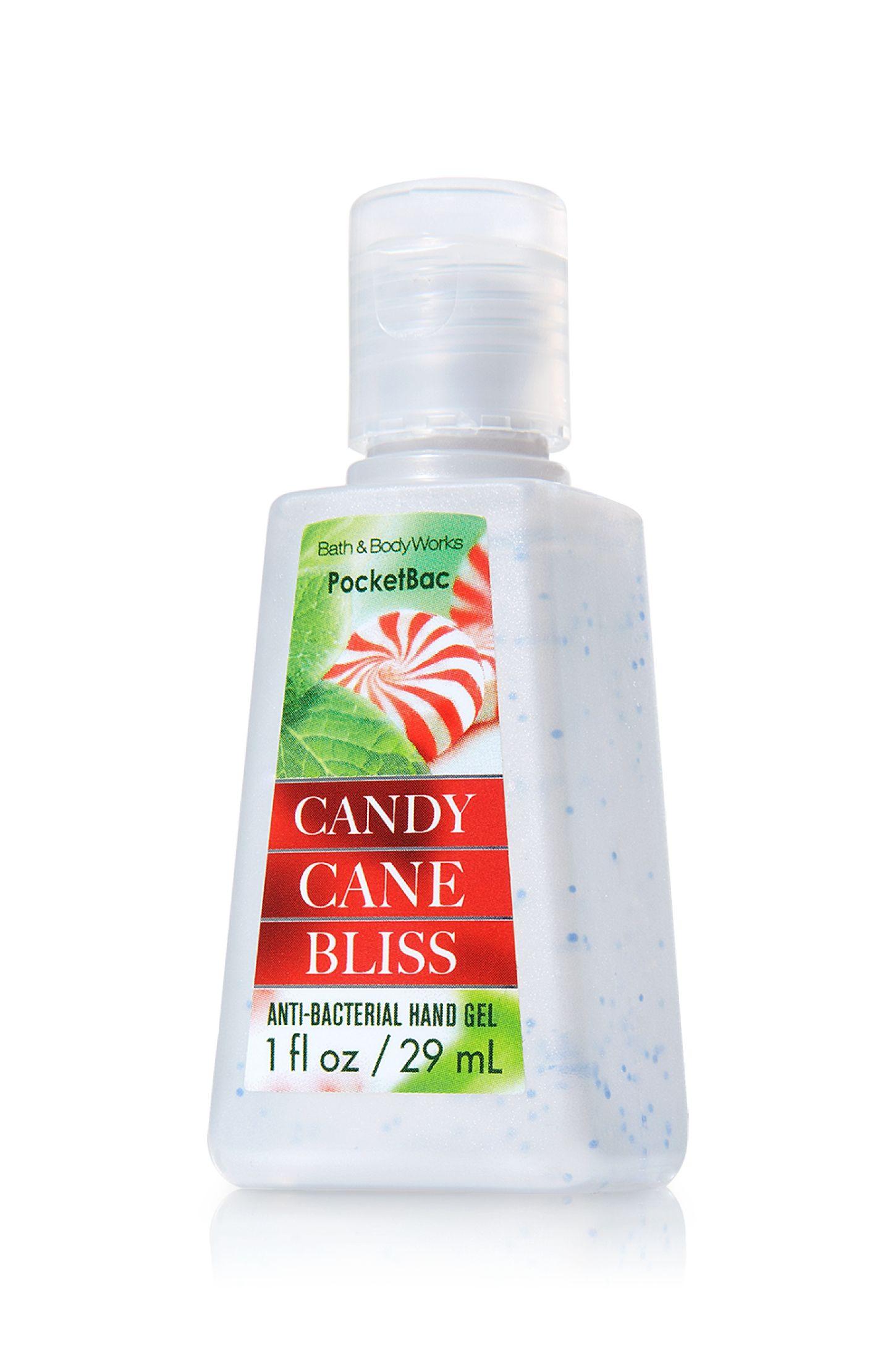 Candy Cane Bliss Pocketbac Sanitizing Hand Gel Anti