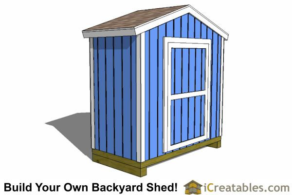 8x4 Backyard Shed Plans Small Shed Plans Shed Shed Plans