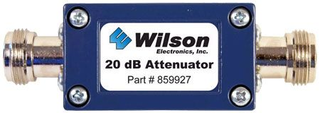 Click Image Above To Purchase Wilson Electronics 859927 20 Db Attenuator W N Female Connectors 859927 Electronics Signal Boosters Television Antenna