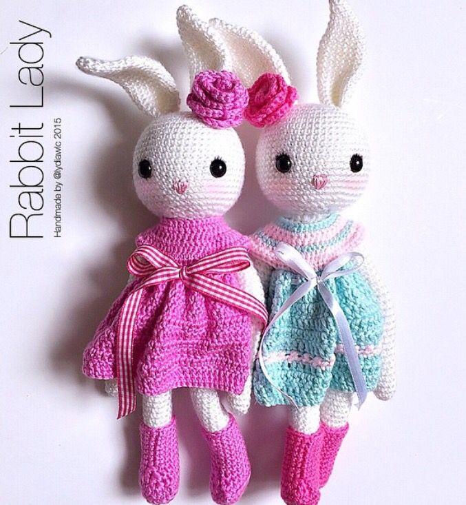 crochet | Sewing, Crochet and Knitting | Pinterest | Conejo ...