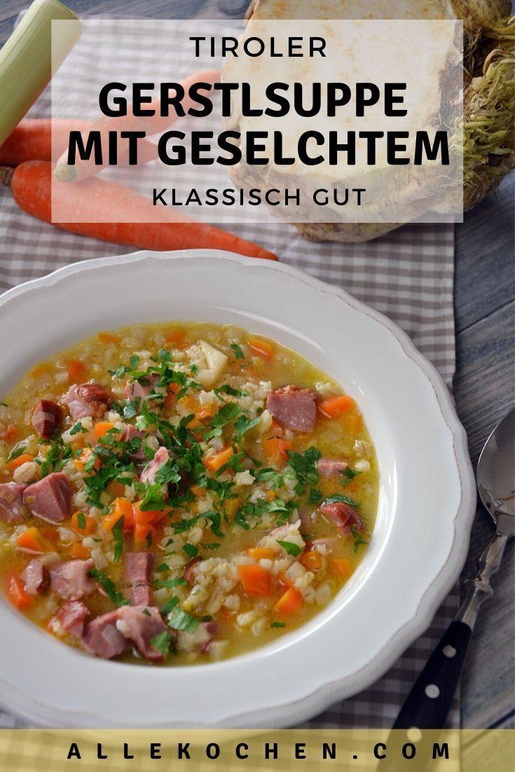 Tiroler Gerstensuppe