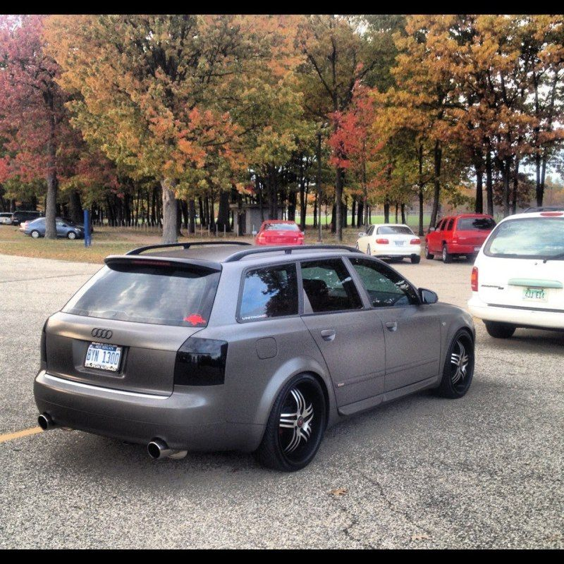 fs b6 avant tail lights smoked blacked out. Black Bedroom Furniture Sets. Home Design Ideas