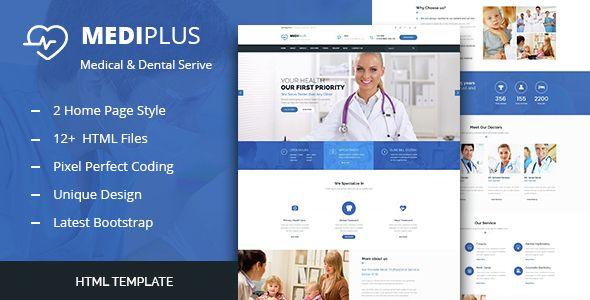 Medi Plus Health And Medical Html Template Medical Websites